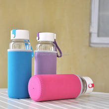 promotional gift Innovative Glass Bottle with sleeve