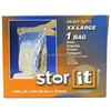 walmart printed Large Storage Bags W/Handle Zip Lock Top