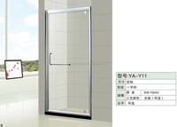 New design simple tempered glass shower room/shower enclosure prefab homes