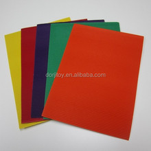 colored Corrugated paper card Pack of 10