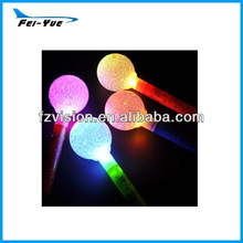Large LED Flashing Crystal Ball Sticks for Christmas Party