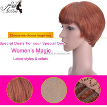 Fashion Kanekalon India Hair Wig Price, Lace Front Heat Resistant Synthetic Wigs, High Quality Wigs For White Women