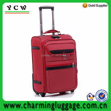 20, 24,28 inch, black, gray and red color travel trolley luggage
