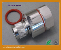 """Andrew type n male rf connector for 7/8"""" Foam Feeder Cable"""