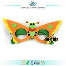 Cheap price EVA Foam owl children animal mask for Halloween festival