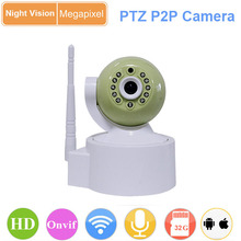 hd lens infrared auto detection ptz indoor dome ip camera wifi