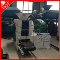 YH caustic soda briquette machine maganese briquette machine lime powder briquette making machine 008615896531755
