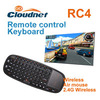 2.4G fly air mouse and keyboard combo factory: 3D motion IR remote control air mouse with gyroscope sensor for set top box