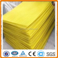 PVC coated welded wire mesh fence panels in 6 gauge
