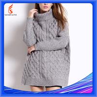 Heavy Gauge Cable Knit Sweater Designer Original Latest Design Ladies Sweater