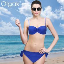 Olgak2015 Fashion Sexy Bikini For Mature Woman Hot Swimsuit Hot drilling