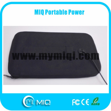 MIQ high efficiency wallet bag foldable solar charger for all cellphones