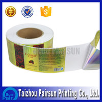 Wholesale adhesive waterproof labels for glass