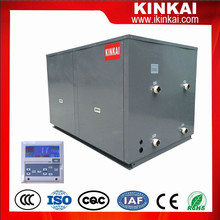 80KW high COP Modular geothermal source heat pump with ss plate heat exchanger