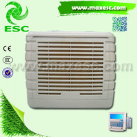 factory duct air cooled cooling system 110v 60hz evaporative mist cooling fan