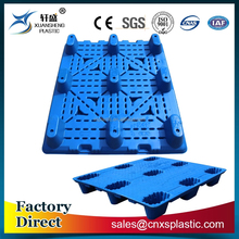 1200*1000*150mm 9 legs blow molding heavy duty plastic pallet