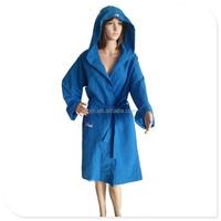 Wholesale hotel microfiber Bathrobe , soft microfiber suede bathrobe