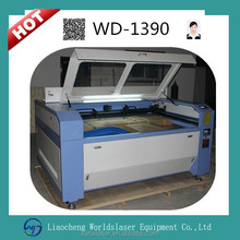 skype;wei.sara51 WD-1390 Laser Cutting Machine/Laser Engraving Machine for acrylic/leather/paper/wood/plastic and non-metal