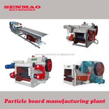 wood log cutter and splitter/wood grinder machine/chipboard plant machine