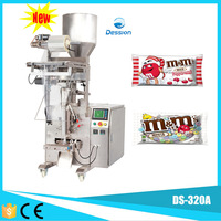 Automatic snack packing machine/Small chocolate wrapping machine