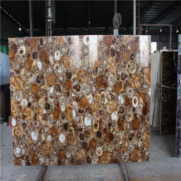 Fossiel hout stenen aanrecht hout jade slb versteend hout tafelblad andere natuursteen product - Buitenste stenen bar ...