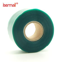 isermal ISM-02-25 silicone self fusing rubber rescue repair electrical sealing tape green color