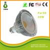 Spot lamp par30 led 10w 85-265v E27/E26/B22 10w 30000hrs 2700-7000k COB led par lamps commercial led par light