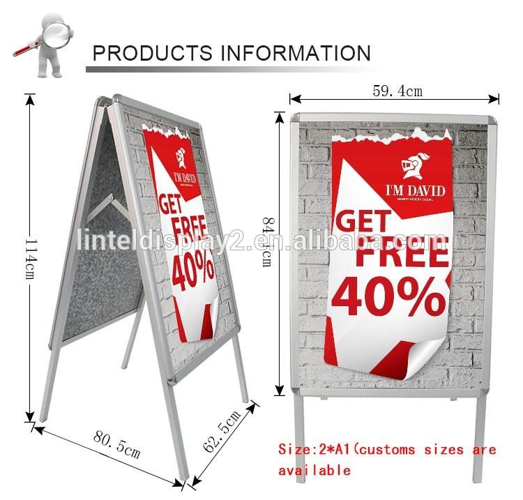 Custom sized poster board