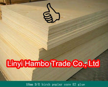13 birch ply wood with high quality and best price from shandong factory