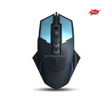 7D Adjustable DPI Optical Gaming Mouse With colorful breath LED lighting for desktop and laptop