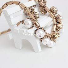 Yiwu European and American Hot sale Wholesale vintage big pearl necklace costume jewelry SN32
