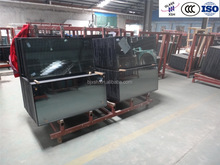 6 low e+ 12A+6, ISO, CE, CCC, Insulated, Tinted, low e, solar, color double glazing glass panel price/ Beijing XSH Glass