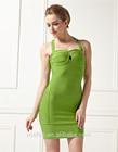 halter pescoço esmeralda verde vestido de baile 2014