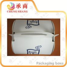 China custom good quality paper cake box packaging
