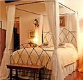 Indio muebles de dormitorio cama del pabellón DB-9116