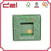 Decorative handmade soap paper boxes