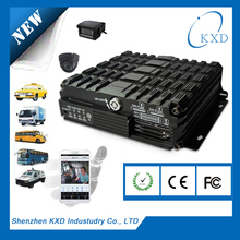 Factory Directly Hot 2015 new design 4 Channel CAR DVR MDVR for all car/taxi/truck/bus/tanker/ship GPS/3G function optional