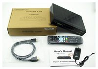 azbox premium plus hd Openbox V8 Combo dvbs2 dvbt2 satellite receiver with twin tuner