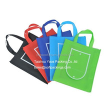 various color promotional non woven shopping bag, custom folding shopping tote bag, wholesale reusable grocery bag tote bag