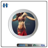 Melamine Bar Tray Melamine Plate with Dancing Girl