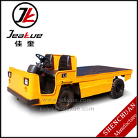 2015 Factory Price 3.0T Platform Electric Full Tractor Trailer Truck for Sale