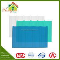 Chinese roof design fiberglass sheet carport roofing material