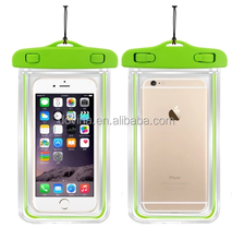 Universal Mobile Phone PVC Waterproof Dry Bag Case with IPX8 Certificate for iPhone 4 4s 5 5s 5c 6ect