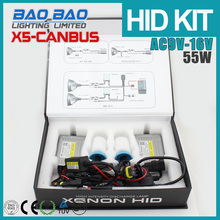 Competitive Price 55W car headlight, 55W hid xenon canbus ballast kit h7 4300k, car hid light canbus X5 AC 55W , BAOBAO Lighting