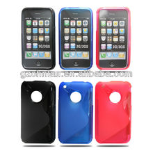 S-line TPU Protector Gel Soft Case For iPhone 3G/3GS