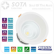 2015 high demand product 2700K 9w led downlight