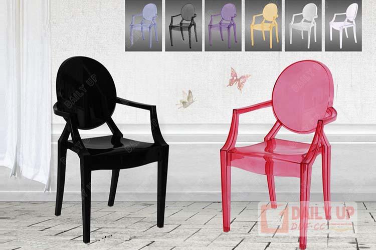 Clear cristal cadeira louis ghost cadeira cadeira de - Sillas acrilico transparente ...