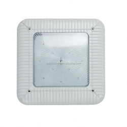 DLC led gas canopy lights with Nichia chip MeanWell led driver,energy saving led industrial canopu lighting 60w 80w 100w