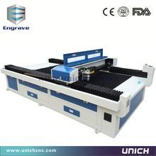 Efficient 1300*2500mm laser cutter manual metal
