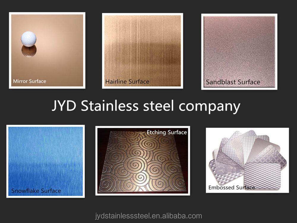 Металл строительных материалов декоративные настенные тиснением из нержавеющей стали серии листов